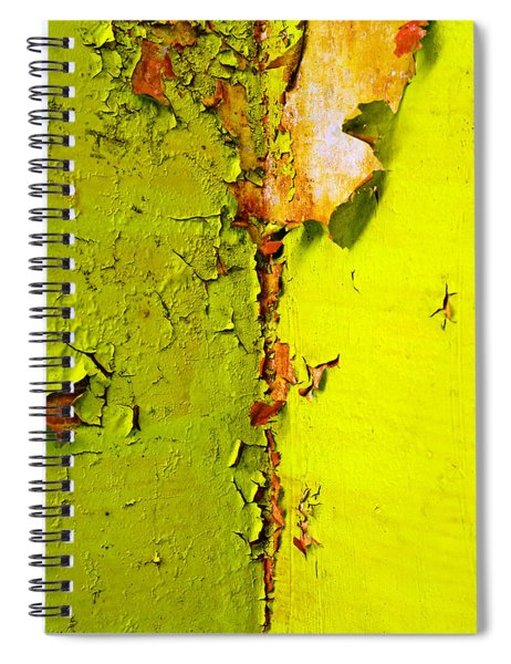 Spiral Notebook featuring the photograph Going Green by Skip Hunt