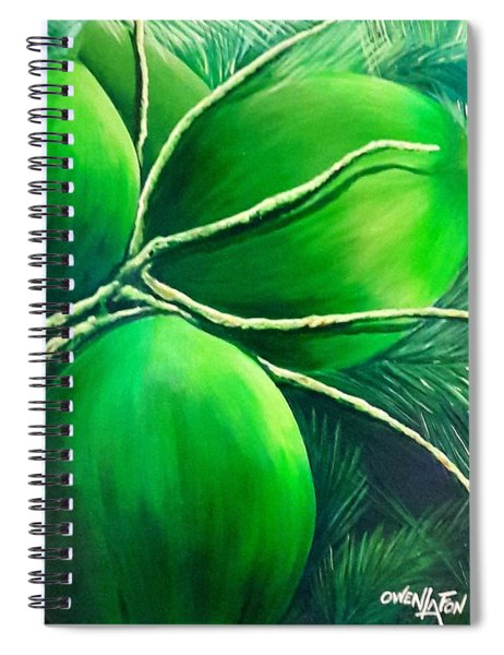 Going Nuts Spiral Notebook