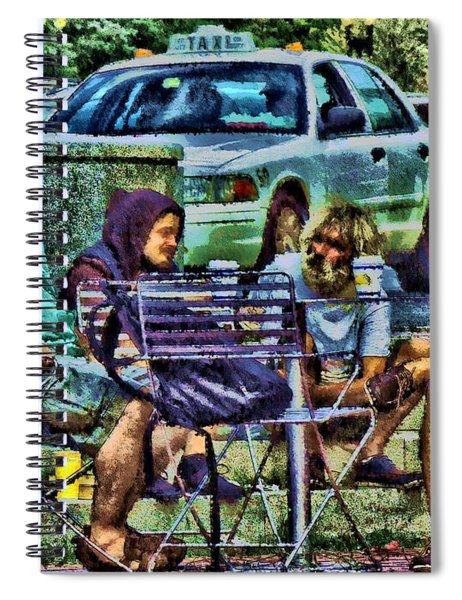 Going Places From Harvard Square Spiral Notebook