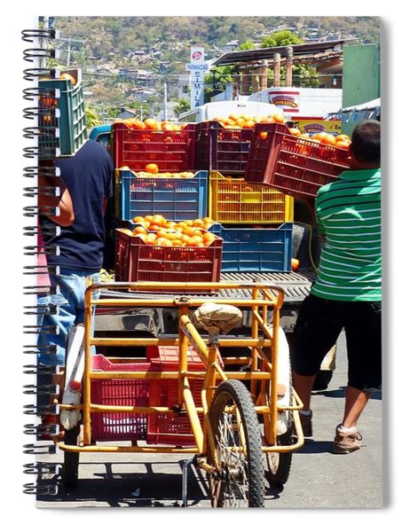 Going To The Market Spiral Notebook
