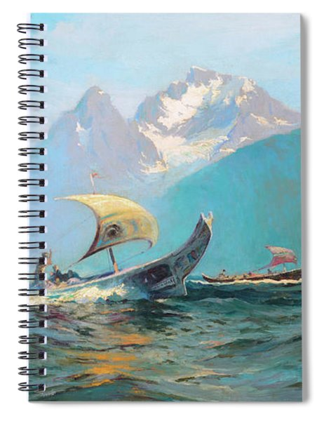 Going To The Potlach Spiral Notebook