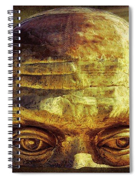 Gold Face Spiral Notebook