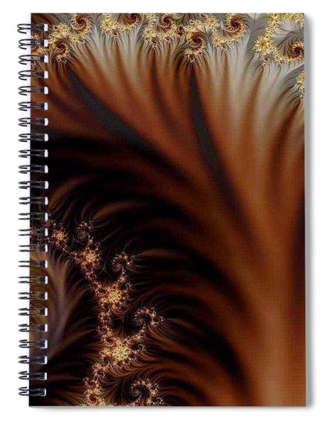 Gold In Them Hills Spiral Notebook