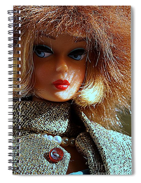 Gold N Glamour Spiral Notebook