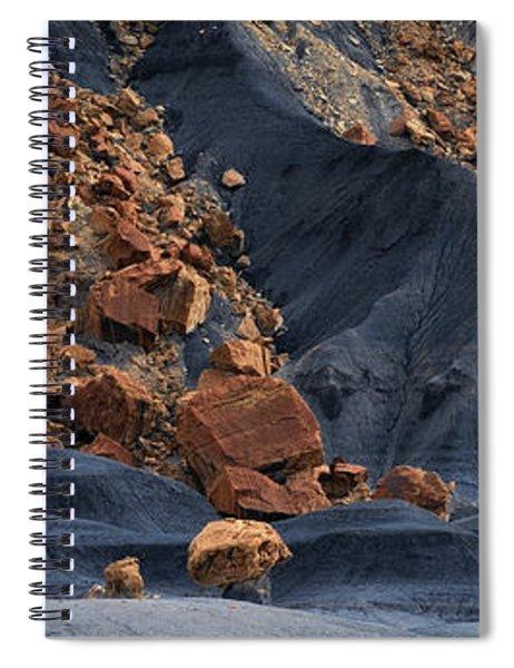 Gold Rush Spiral Notebook