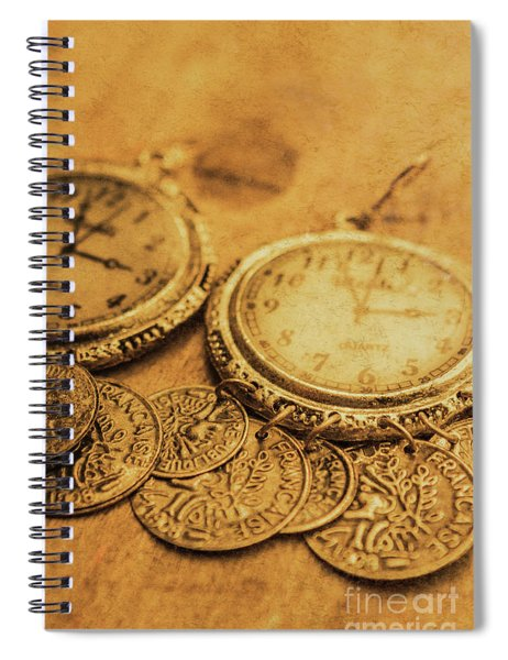 Golden Age Of Fashion Spiral Notebook