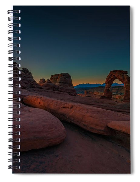Golden Arch Spiral Notebook