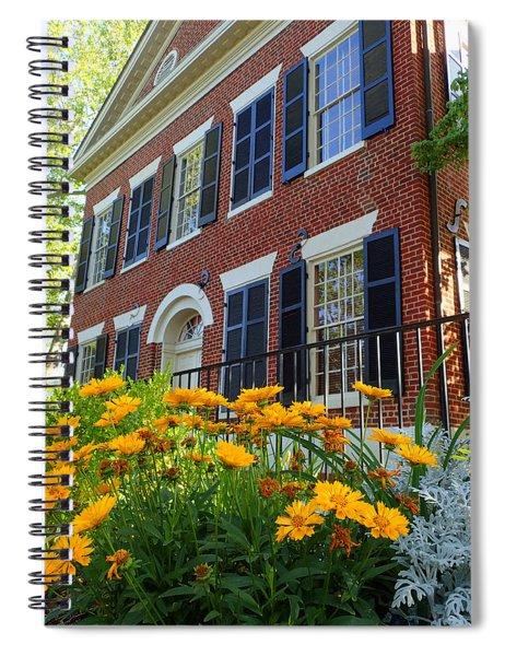 Golden Blooms At The Dahlonega Gold Museum Spiral Notebook