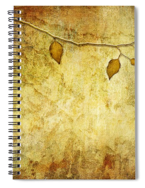 Golden Branch Of Hope  Spiral Notebook