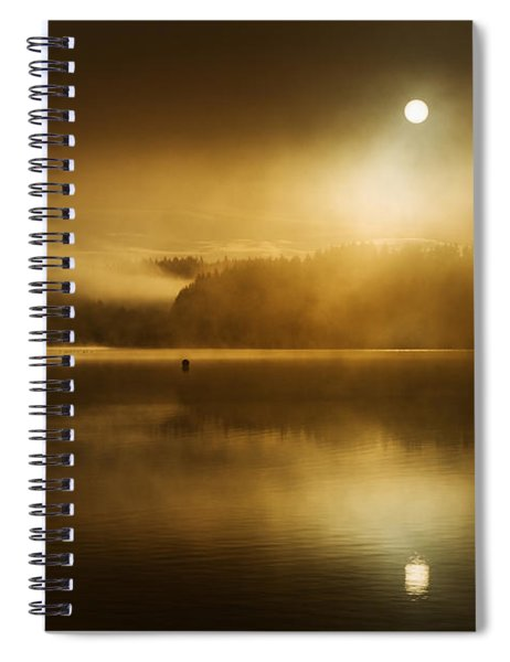 Golden Dawn Loch Ard Spiral Notebook