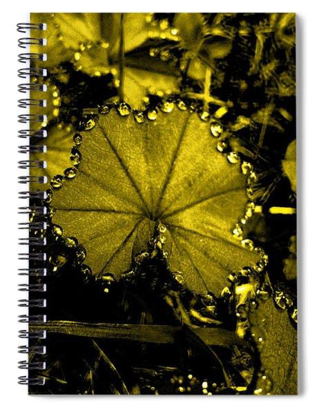 Golden Dew Spiral Notebook
