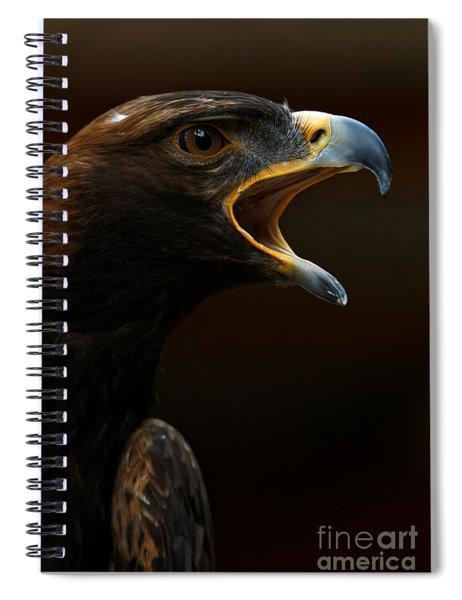 Golden Eagle - Gift Of Nature Spiral Notebook