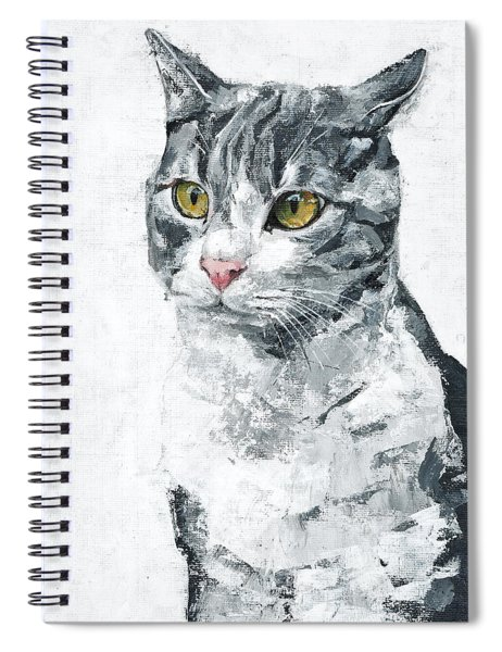Golden Eyes Spiral Notebook