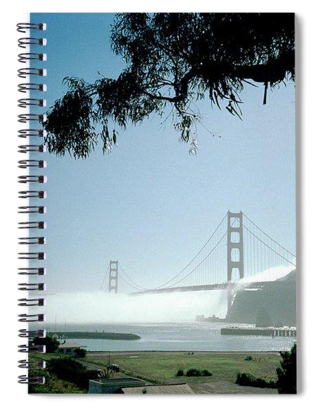 Golden Gate Fog  Spiral Notebook