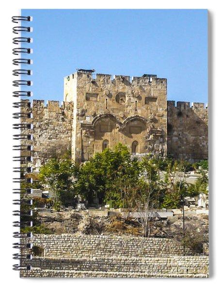 Golden Gate Jerusalem Israel Spiral Notebook