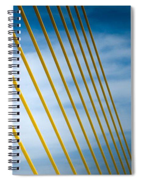 Golden Glow Of Tampa Spiral Notebook