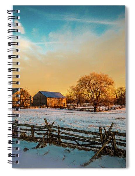 Golden Hour Spiral Notebook