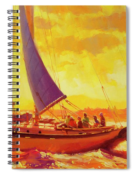 Golden Opportunity Spiral Notebook