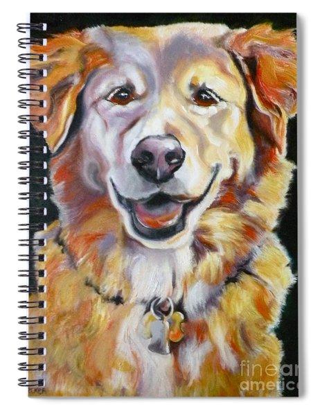 Golden Retriever Most Huggable Spiral Notebook