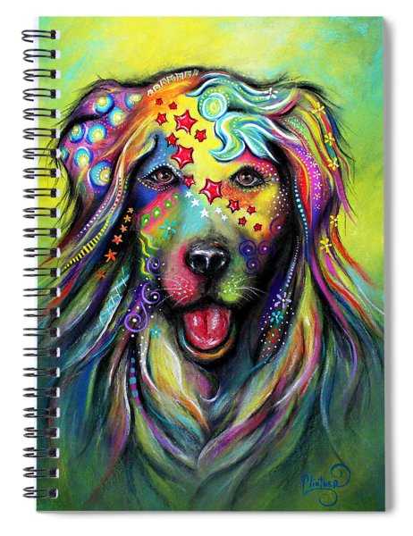 Golden Retriever Spiral Notebook