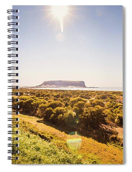 Golden Stanley Landscape Spiral Notebook