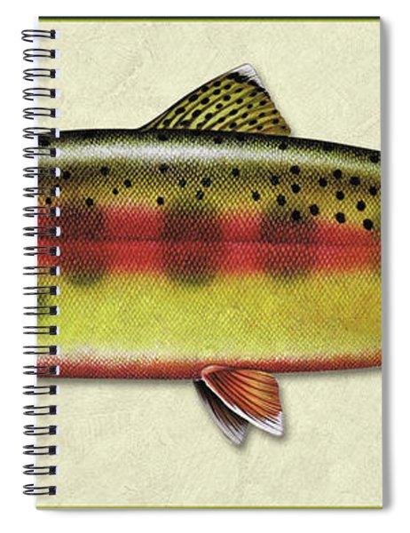 Golden Trout Id Spiral Notebook