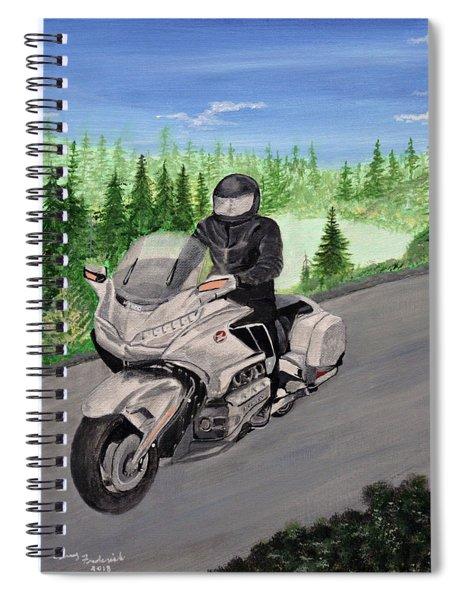 Goldwing Spiral Notebook