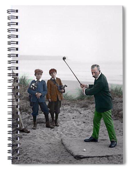 Golf 1907 Dream Spiral Notebook