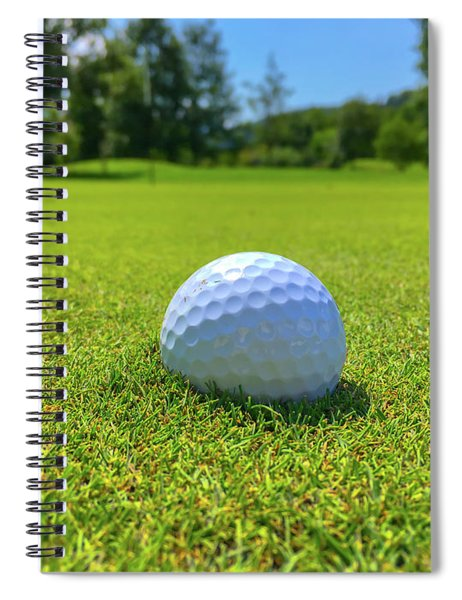 Golf Ball Spiral Notebook