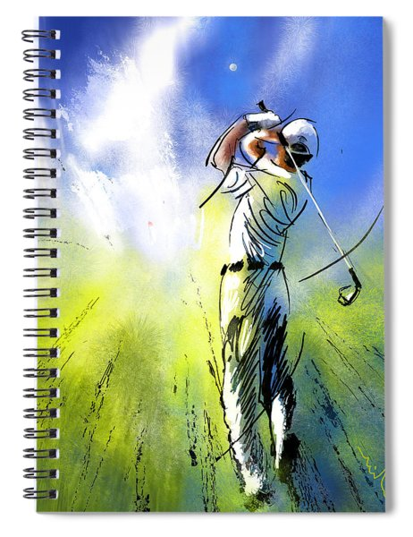Golfscape 01 Spiral Notebook