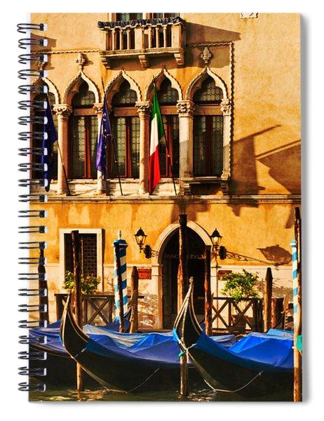 Gondola Parking Only Spiral Notebook