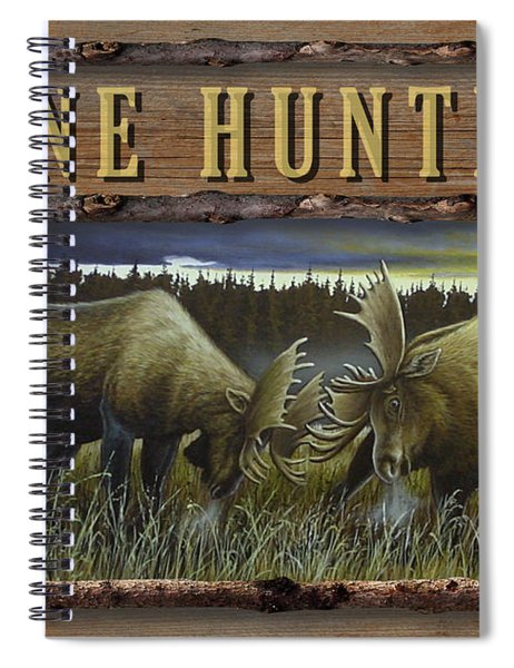 Gone Hunting - Locked At Lac Seul Spiral Notebook