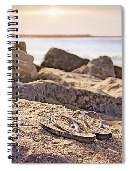 Gone Surfin' Spiral Notebook