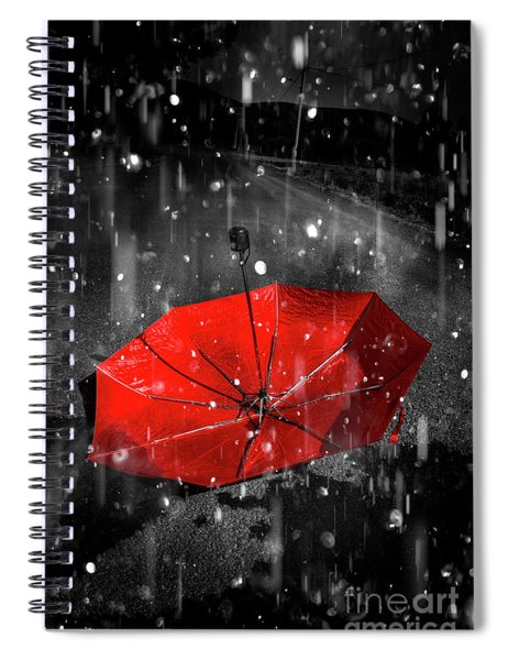 Gone With The Rain Spiral Notebook