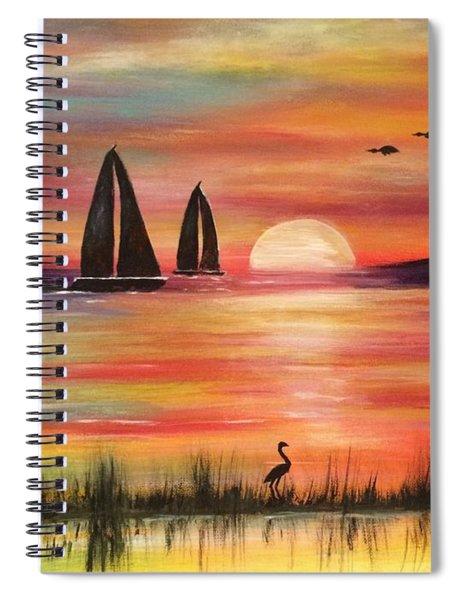 Good Eveving Spiral Notebook
