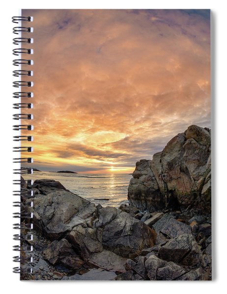 Good Harbor, Rock View Vertical Spiral Notebook