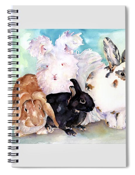 Good Hare Day Spiral Notebook