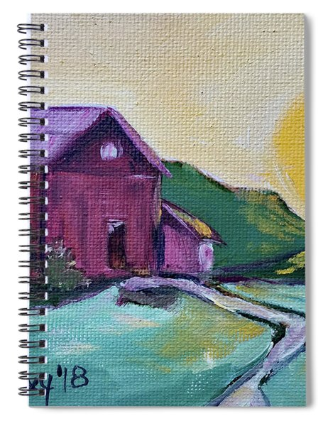 Good Morning Countryside Spiral Notebook