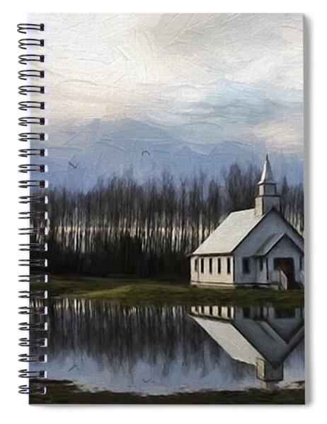 Good Morning - Hope Valley Art Spiral Notebook