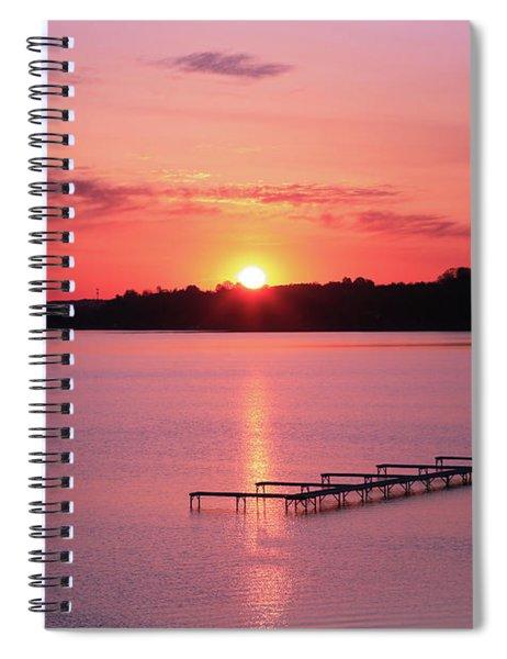 Good Morning Traverse City 2 Spiral Notebook