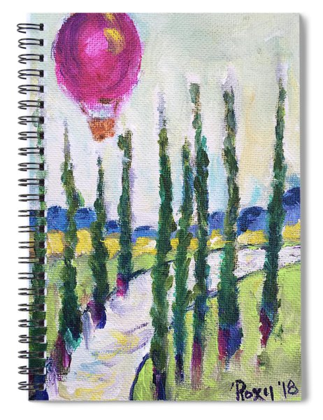 Good Morning Wine Country Spiral Notebook