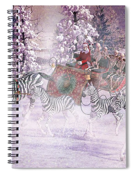 Good Tidings And Joy Spiral Notebook