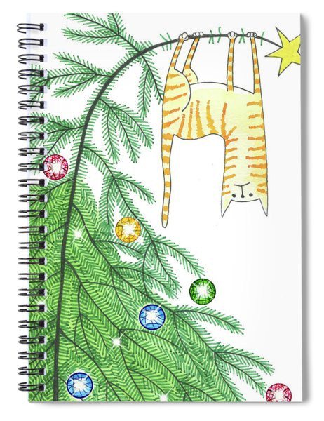 Goodbye, Christmas Tree  Spiral Notebook