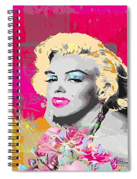 Goodbye Norma Jean  Spiral Notebook by Eleni Mac Synodinos