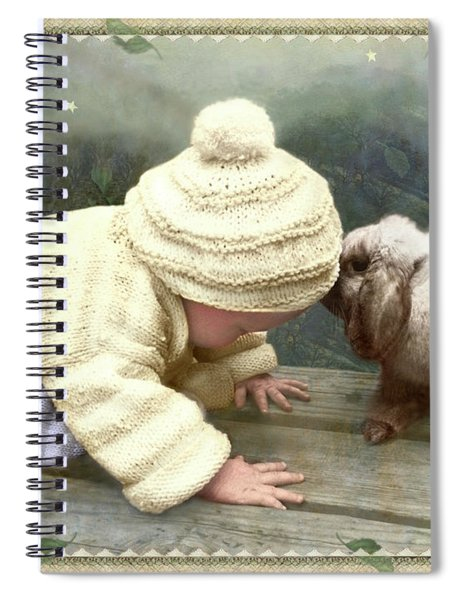 Goodnight Bunny Spiral Notebook