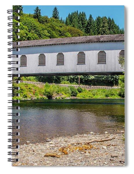 Goodpasture Covered Bridge Spiral Notebook