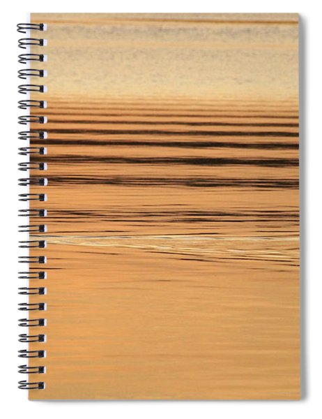 Goose And Water Ripples  Spiral Notebook