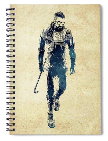 Gordon Freeman Spiral Notebook