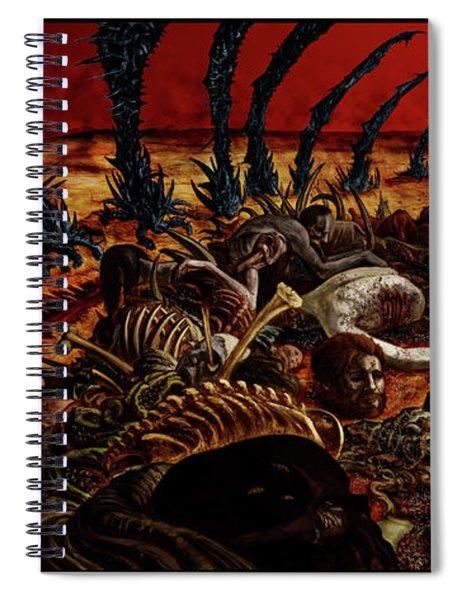 Gored-explored Spiral Notebook