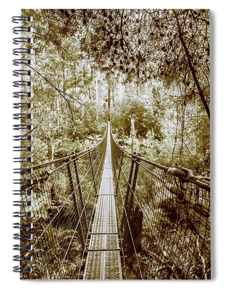 Gorge Swinging Bridges Spiral Notebook